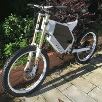 Buy cheap Fat Shock Absorber Electric Assist Mountain Bike Eco - Friendly For Adult from wholesalers