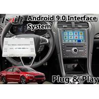 Buy cheap Lsailt Android 9.0 Car Video Interface for Ford Fusion sync3 system support front and rear camera from wholesalers