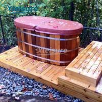 Buy cheap Commercial Wooden Hot Tub Cover Personalization Multi - Radius Thermal Spa Cover from wholesalers