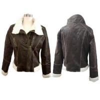 Buy cheap Stock Ladies Fur Jacket from wholesalers