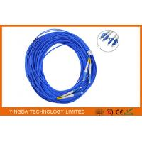 Buy cheap Duplex Fiber Optic LC - LC Single mode Patch Cord , Fiber Patch Cable Duplex Riser from wholesalers