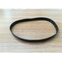 Buy cheap EPDM / SILICONE Extrusion Rubber Thread , Elastic Rubber Flat Band from wholesalers