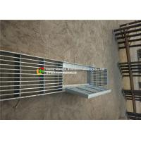 Buy cheap House Drain Hot Dipped Galvanized Steel Grating 24 - 200mm Cross Bar Pitch from wholesalers