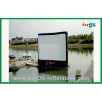 China Inflatable Movie Screen In Water L4m xH3m Inflatable TV Screen on sale