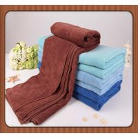 Buy cheap custom blue  promotional100% disposable bath or face towel for restaurant from wholesalers