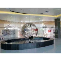 Buy cheap 3.0M Plaza Decoration Polished Mirror Stainless Steel Globe Sculpture from wholesalers