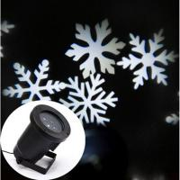 LED Christmas white Snowflake lights - disco party light -wedding decorations lights