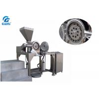 Buy cheap Screw Feeding Type Cosmetic Powder Crusher With 12 Hammers , Stainless Steel Material from wholesalers