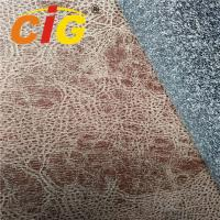 Buy cheap Faux Suede Leather Upholstery Fabric For Sofa / Car Seat In Russia Windproof from wholesalers