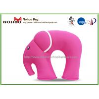 Buy cheap Funny Pink Baby Neck Support Pillow / Elephant Shaped Car Pillows For Kids from wholesalers