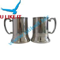 Buy cheap Double wall 12oz stainless steel coffee mug from wholesalers