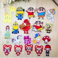 Buy cheap Minions Ahri SpongeBob SquarePants  embroidery badges patches sew ironing clothes cap accessories carton from wholesalers
