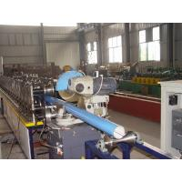 Buy cheap 17 Rows Rollers Round Downspout Roll Forming Machine For Tube CE Certification product