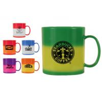 Buy cheap Double-wall color change plastic travel mug product