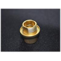 Buy cheap RF Connector Custom Aerospace CNC Machining Brass Tuned Parts Gold Plated from wholesalers