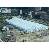 Buy cheap Heat Resistant TFS Tents 40 x 90 M With Fire Retardant White PVC Fabric For Events from wholesalers