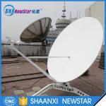Buy cheap 1.8m C or Ku band carbon fiber reflectors manual portable satellite dish antenna from wholesalers