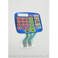 Buy cheap Durable Silicone Rubber Keypad , Pcb Membrane Switch Keyboard SGS Approval from wholesalers