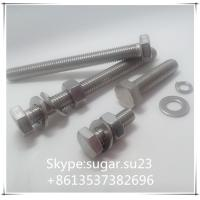 Buy cheap Stainless steel bolts and nuts,DIN standard size bolts, nuts,screws,washers,thread rods from wholesalers