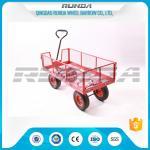 Buy cheap Transport Tool Garden Mesh Cart , Heavy Duty Garden WagonSteel Tubular Handle from wholesalers