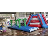 Buy cheap Crazy Fun Seal Welding Commercial Inflatable Water Parks With Air Pump And Repair Kit from wholesalers