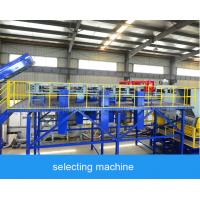 Buy cheap 2000kg / H Waste Plastic Recycling Machine , Flakes Plastic Scrap Washing Plant product