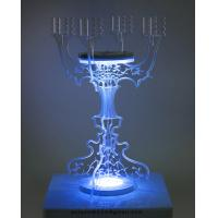Buy cheap CH (2) acrylic pillar candle holder from wholesalers