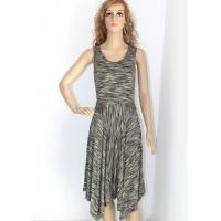 Buy cheap Round neck sleeveless formal evening dresses for women/female compfortable feeling S M L XL from wholesalers