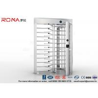 Buy cheap High Security Turnstile Full Height Stainless Steel Access Control For Prison product