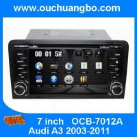 Buy cheap Ouchuangbo In Dash DVD Stereo Radio for Audi A3 2003-2011 GPS Navigation Audio Player USB iPod OCB-7012A from wholesalers