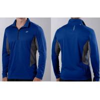 Buy cheap Men's Road Runner Long Sleeved Jersey 1 / 2 Zip Craft Running wear Cool Breathable from wholesalers