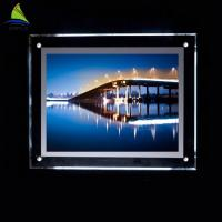 Buy cheap Decorative Clear Acrylic Led Light Box 4x6 4x5 5x7 Acrylic Picture Frame from wholesalers