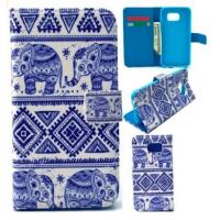 Buy cheap PIZU Magnetic Flip Style PU Leather Print Wallet Flap Closure Protective Cover Case gifts from wholesalers