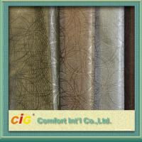 Quality Multi Color High Abrasion PVC Artificial Leather Fabric  0.5 - 2mm Fake Leather Material for sale
