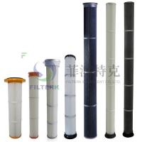Buy cheap Pulse Jet Bag Cartridge Filter Element For Dust Collecting 153 * 1000mm Dimension product