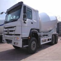 Buy cheap Sinotruck HOWO 6x4 336hp 10m3 concrete mixer truck from wholesalers