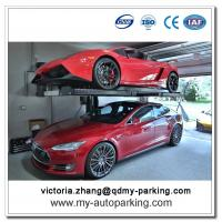 Buy cheap 1 Post Hydraulic Cylinder Car Parking Lift for Home Garages for Sale from wholesalers