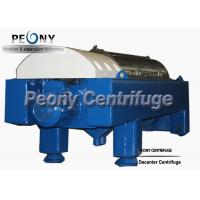 Buy cheap Solid Liquid Separation Decanter Centrifuges Sludge Dewatering Equipment 2 Phase product