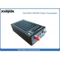 Buy cheap Microwave HD Wireless Video Transmitter HD + SDI + CVBS 3 Ports for Body Worn Cameras from wholesalers