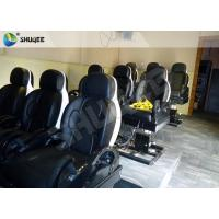 Buy cheap 3 DOF Pneumatic System 5D Movie Theater Luxury Black Chair Yellow 3D Glasses product