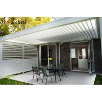 Buy cheap Modern design Pergola louver Opening roof /waterproof louver from wholesalers