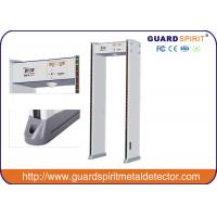 Buy cheap high sensitivity Portable Full Body scanner , Walk Through Metal Detectors With Cctv Camera from Wholesalers