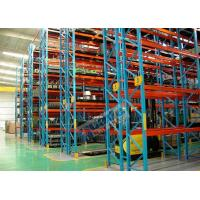 Buy cheap Heavy Duty Shelving Rack Steel Storage Racking 120mm Width For The Logistics Centers from wholesalers