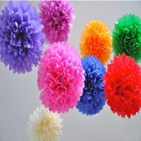 Buy cheap handmade paper honeycomb ball/Tissue Paper Flower Ball from wholesalers