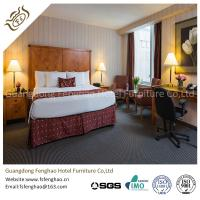 Quality 5 Layers Polishing And Painting Hotel Style Bedroom Furniture Wooden For 5 Star for sale