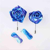Buy cheap Wedding Party Handmade Flower Brooch Eco - Friendly Fray Resistant Material from wholesalers