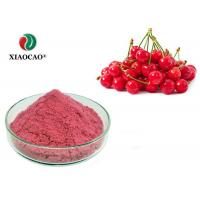 Buy cheap Fruit Product Fresh Food Extract Instant Cherry Juice Powder Food Grade from wholesalers
