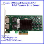 Buy cheap RJ-45 Copper Cable Gigabit Controller Server Ethernet Network Card  Femrice 10002PT from wholesalers