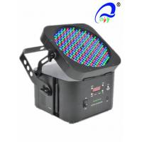Buy cheap Wireless 198 * 5mm LED Par Light 60 Red / 69 Green / 69 Blue Wide Range Beam Effect from wholesalers
