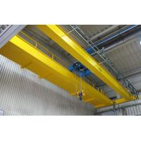 Buy cheap LH Model Double Girder Travelling Overhead Crane EOT Crane with Electric Hoist Trolley from wholesalers